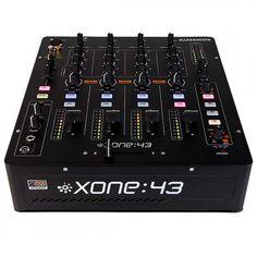 Allen & Heath Xone 43 4 Channel Analog DJ MixerNone