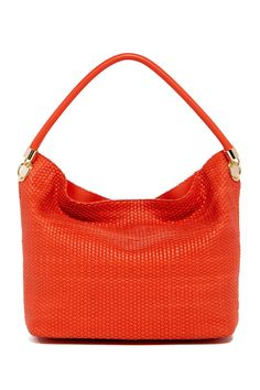 9c349c026885 Benson Leather Woven Hobo by Cole Haan on  nordstrom rack Leather Weaving