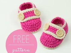 Crochet Baby Booties Pretty In Pink
