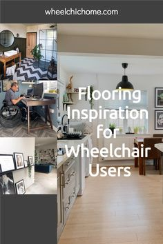 If you're looking for ideas for flooring in your home and you have a wheelchair user in the house, why not check out my blog post for some great ideas for different floor types that are great for those with wheelchairs, scooters or buggies Wooden Flooring, Concrete Floors, Laminate Flooring, Vinyl Flooring, Hotel Corridor, Got Wood, Wheelchairs, Building A New Home, Polished Concrete