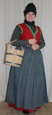FolkCostume&Embroidery: Costume of Rømø, Denmark: