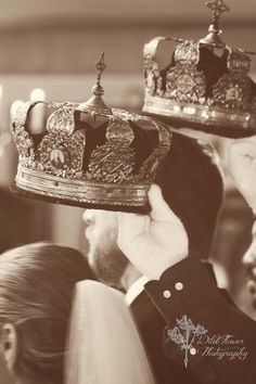 Orthodox wedding - crowning