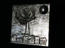 """Metal Art Bild """"Tree of Life"""" Aluminium Art, 3D"""