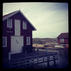 Smögen, by the sea, south west of Sweden