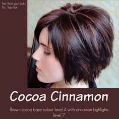Great fall color: cocoa cinnamon