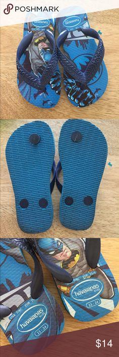 Havaianas Batman Flip Flop 💙💙💙 Havaianas Shoes Sandals & Flip Flops