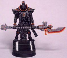 WarSeer Warhammer 40k Necrons, Warhammer 40k Figures, Warhammer Models, Warhammer 40k Miniatures, Paint Schemes, Colour Schemes, Imperial Knight, Mini Paintings, Fantasy Warrior