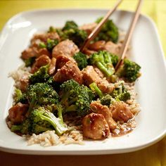 Make your own Sesame Chicken! More chicken stir fry recipes: http://www.bhg.com/recipes/ethnic-food/asian/chicken-stir-fry-recipes/?socsrc=bhgpin082713sesame=9