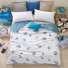 ocean theme summer quilt as gift for kids,gift for home decor lovers