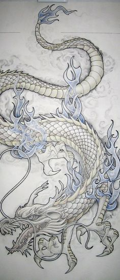 Dragon Tattoo Design | Tattoo Ideas Central #dragon #tattoos #tattoo