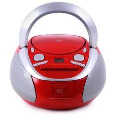 Toplader CD Player Kassettendeck USB Radio Stereoanlage: Amazon.de: Elektronik