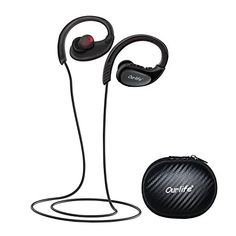 Bluetooth Headphones, Ourlife Wireless Headphones Sport w/ Mic IPX5 Waterproof HD Stereo Sweatproof Earbuds for Gym Running Workout 8 Hour Battery Bluetooth V4.1 (Black) - FAQ Q: Why could not I connect bluetooth? A: Delete your mobile phone/tablet saved bluetooth devices, and/or cancel your current bluetooth connection. Connect/re-connect Ourlife wireless headset by following instruction steps. Q:Why is the bluetooth signal lost occasionally? A: Bluetooth i...