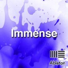 Immense Ableton Live, 30 Years, Templates, Stencils, Vorlage, Models
