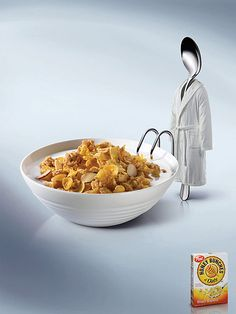 Post Honey Bunches: Spoon, 3 by Regev-kavitzky #foto #photography #advertising