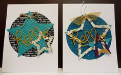 More Star cards created by Lynn Gauthier for Convention 2015 swap cards!  Shhh....