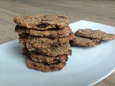 Havermout koekjes || choco en rozijn variatie