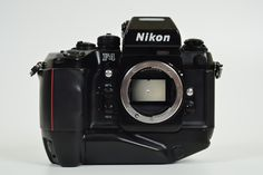 The Giorgetto Guigaro-designed Nikon F4s — still something of a hybrid of the mechanical era, but nice camera to use