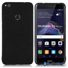 Силиконовый чехол для Huawei Ascend P8 Lite 2017, черного цвета
