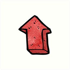 cartoon arrow symbol