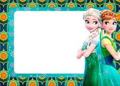 Frozen Fiebre Congelada: Invitaciones para Imprimir Gratis.                                                                                                                                                                                 Más