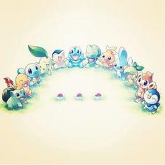 Starters #pokemon