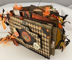 halloween mini albums | Halloween Mini Album