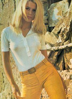 Dutch actress Katia Christine, 1969 for Playmen