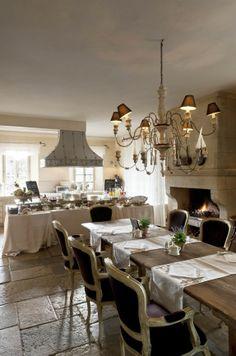 breakfast room @ Relais Borgo Santo Pietro | Luxury Country Hotel | Chiusdino (Siena) | Tuscany | Italy