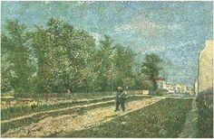 Vincent van Gogh Painting, Oil on Canvas Paris: June - July , 1887 Private collection Japan, Asia F: 361, JH: 1260