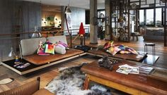 Stunning warehouse loft. Industrial / rustic / eclectic.