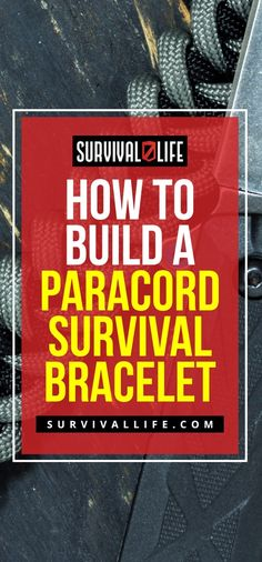 Check out How To Make Paracord Survival Bracelets   DIY Survival Prepping at https://survivallife.com/make-paracord-survival-bracelets/