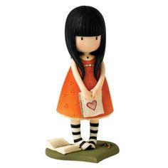 Gorjuss A26472 - Figurita decorativa, color naranja: Amazon.es: Hogar