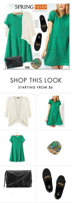 """""""Spring Fever"""" by mada-malureanu ❤ liked on Polyvore featuring Mint Velvet, Giuseppe Zanotti, SpringFever, yoins and yoinscollection"""