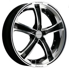 Katana KR12 Black Machined Rim