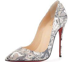 Christian-Louboutin-So-Kate-Marbled-Pumps Stilettos, Black High Heel Pumps, Black Shoes, Mode Shoes, Christian Louboutin Outlet, Manolo Blahnik Heels, Chic Chic, Shoe Boots, Pump Shoes