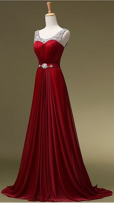 New Arrival Evening Dresses Sexy Wine Red Burgundy Chiffon Long Prom Dress Graduation Dresses,Off the shoulder beaded Evening Prom Gowns,Mother of the Bridal Dresses,Wedding Party Dress,Burgundy Bridesmaid Dresses