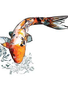 Two koi fish koi and fine art prints for Koi for sale houston