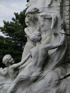 Johann-Strauss-Denkmal Wien (Ausschnitt)