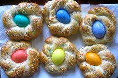Italian Easter Egg Bread recipe