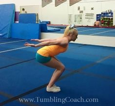 This complete guide reveals 8 drills with complete progressions on how to get your standing back tuck (backflip) in just days! Toddler Gymnastics, Gymnastics Levels, Gymnastics Lessons, All About Gymnastics, Gymnastics Floor, Tumbling Gymnastics, Gymnastics Coaching, Gymnastics Workout, Olympic Gymnastics