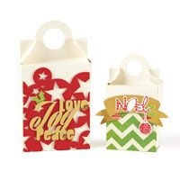 Holiday Gift Boxes | November/December 2013 | Paper Crafts | Betsy Veldman