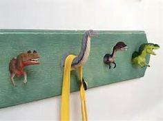 plastic dinosaur repurpose - Bing images