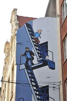 """Comic-Metropole Brüssel: """"Hagel und Granaten!"""" - SPIEGEL ONLINE"""