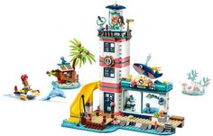 Shop LEGO Friends Lighthouse Rescue Center 41380 at Best Buy. Find low everyday prices and buy online for delivery or in-store pick-up. Lego Friends, Friends Set, Toy Playhouse, Lego Clones, Shop Lego, Pet Clinic, Animal Clinic, Lego Builder, Lego System