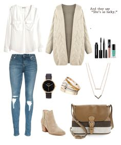 Beige/Brown Combination #5 by starshadow773 on Polyvore featuring polyvore fashion style H&M belle by Sigerson Morrison Burberry Michael Kors Nixon Dorothy Perkins Bobbi Brown Cosmetics Marc Jacobs NARS Cosmetics Inglot women's clothing women's fashion women female woman misses juniors