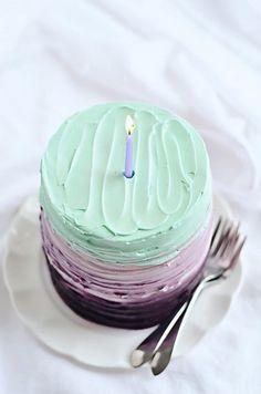Vanilla Blackberry Mascarpone Cake via Sweetapolita