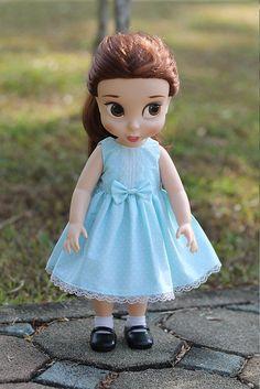Disney Princess Animators 16 doll Dress by moni2gurumi on Etsy