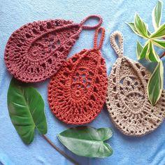Crochet Home, Knit Crochet, Crochet Geek, Crochet Bags, Crotchet, Doily Patterns, Crochet Patterns, Crochet Plant Hanger, Crochet Vintage