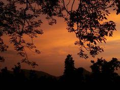 Beautiful evening in Latehar. ....