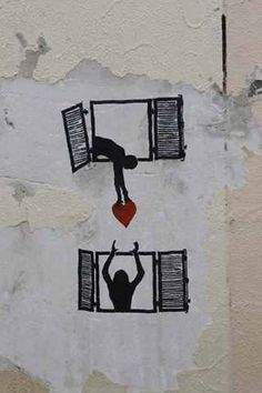 From the rat, I guessing this is another piece from the symbolic genius - Banksy. 3d Street Art, Street Art Banksy, Murals Street Art, Banksy Art, Street Artists, Bansky, Graffiti Artists, Urbane Kunst, Illustration